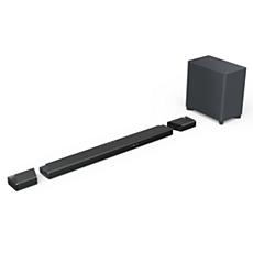 B97/10 Fidelio Barra de sonido 7.1.2 con subwoofer inalámbrico