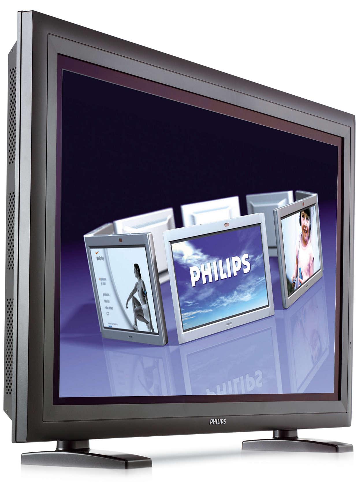 Solução de ecrã versátil e de alta resolução