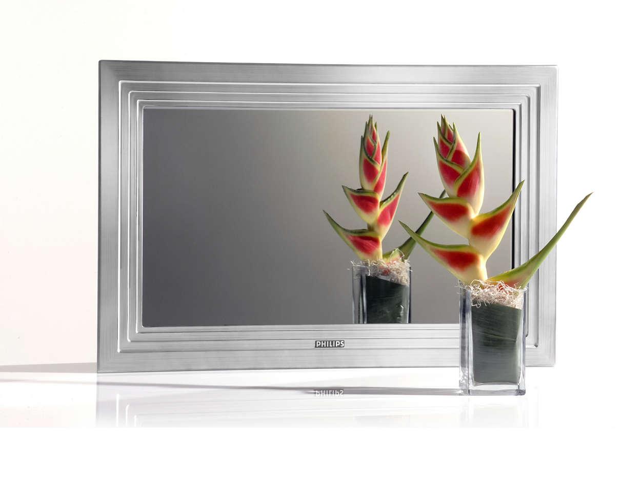 O televisor que reflecte o seu estilo