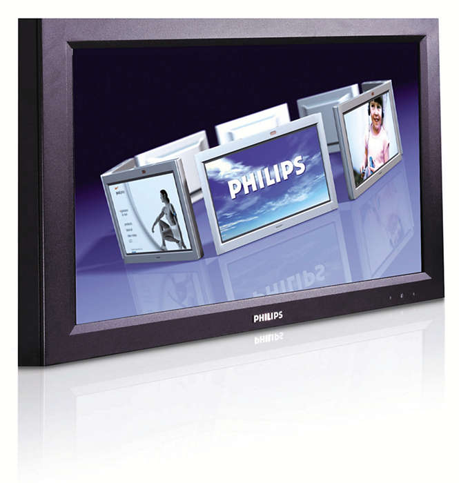 Utmärkt, robust och avancerad displaylösning för offentliga rum