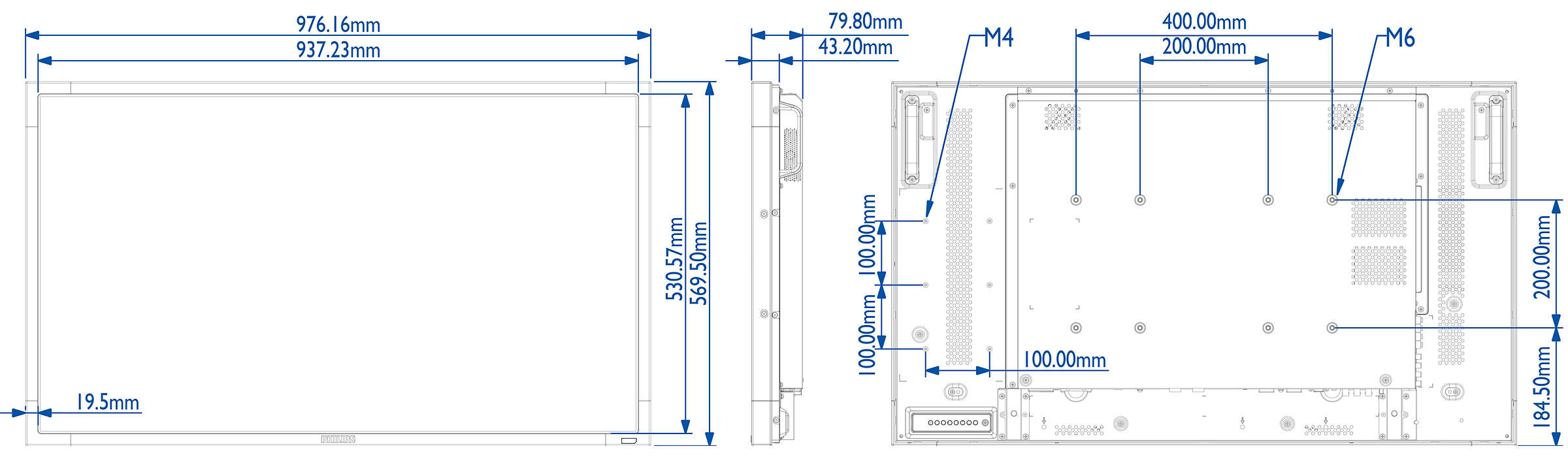 Multi Touch Display Bdl4254et 00 Philips Main Board Schematic Circuit Diagram Discover A New Level Of Interaction