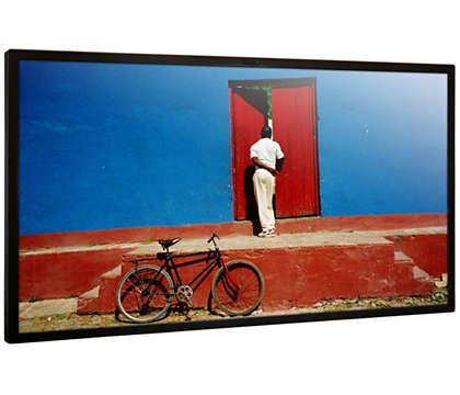 Enastående bildkvalitet