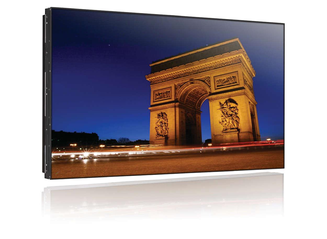 打造最令人驚豔的視訊牆