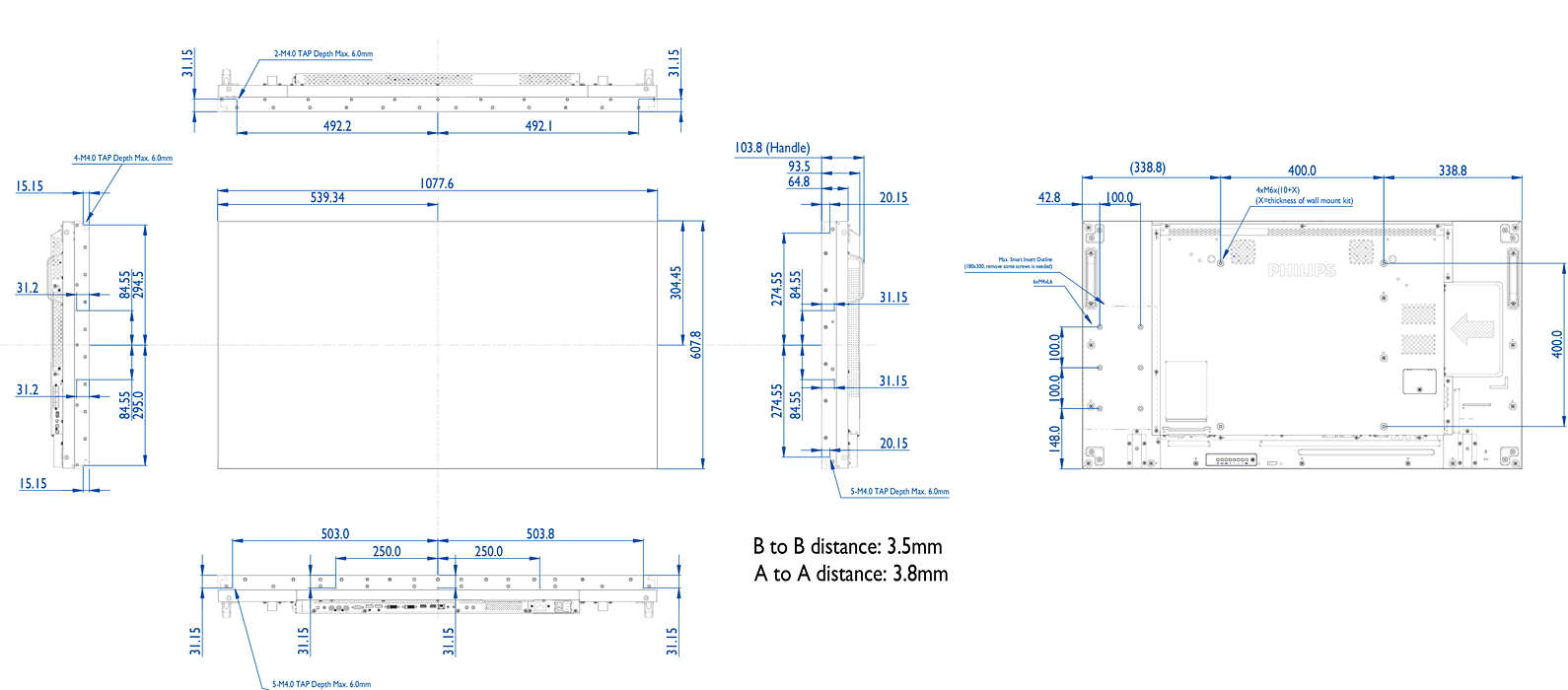 Video Wall Display Bdl4988xl 00 Philips Main Board Schematic Circuit Diagram Create New Stopping Power