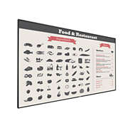 Signage Solutions V-Line Display