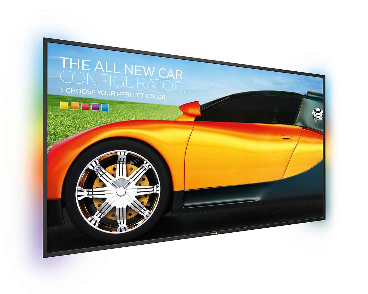 Przekaz informacyjno-reklanowy na jeszcze większym ekranie
