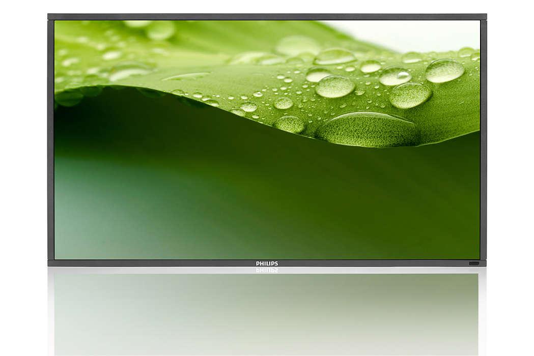 Bu şık Full HD LED Ekranla