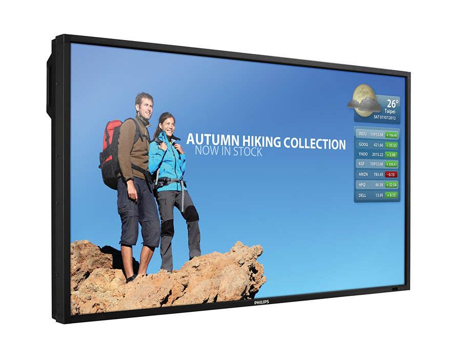 고성능 LCD 디스플레이로