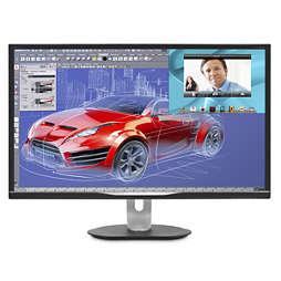 Brilliance LED-bakbelyst LCD-skjerm med Multiview