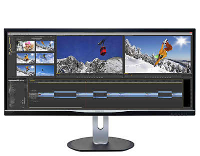 Ultrawide Lcd Display Mit Multiview Bdm3470up 00 Philips