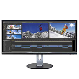 Brilliance UltraWide LCD-display med MultiView