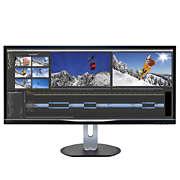 Brilliance 配備 MultiView 技術的超闊 LCD 顯示器