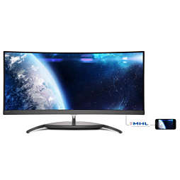 Brilliance Pantalla LCD Curved UltraWide