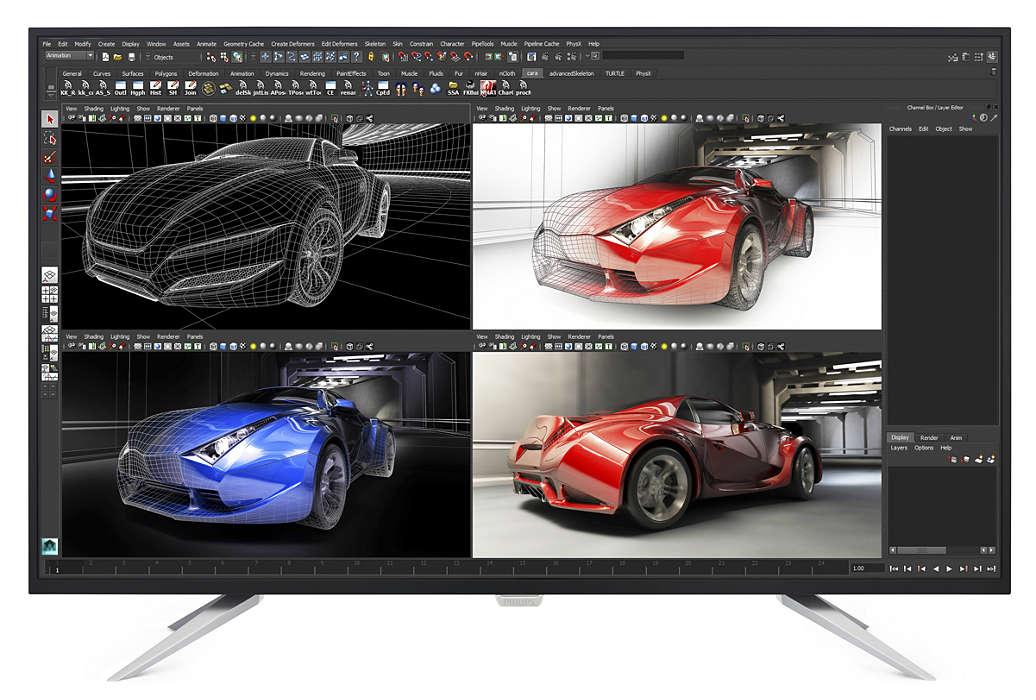 Äärimmäinen 4K Ultra HD -tarkkuus
