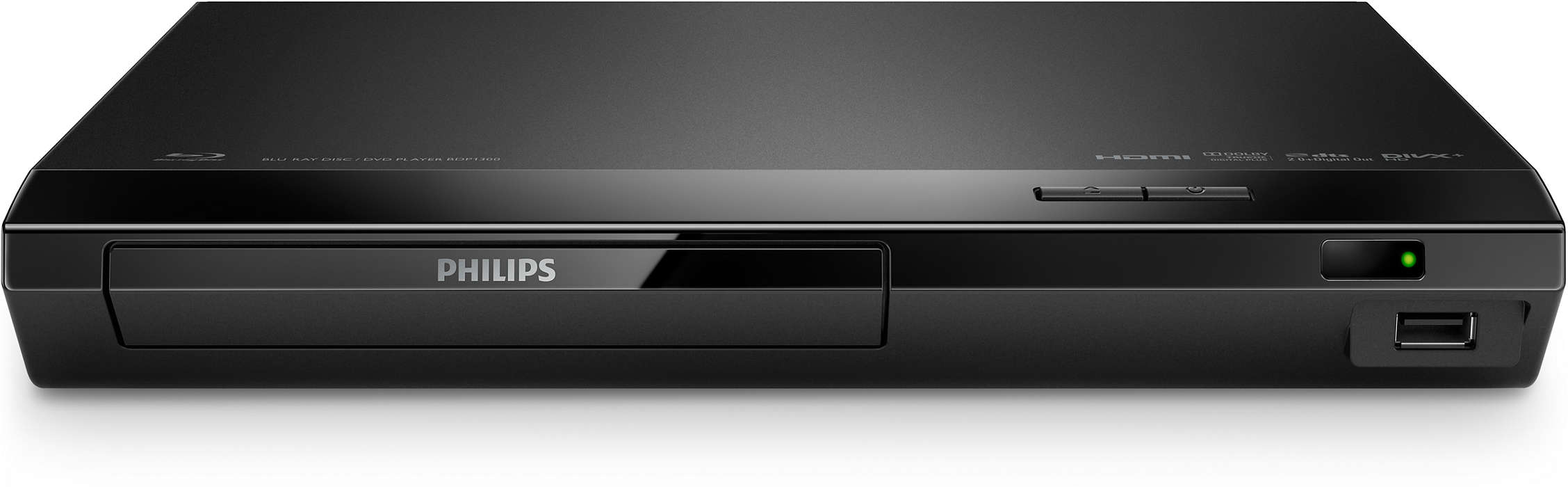 Play all your movies from Blu-ray discs and DVDs