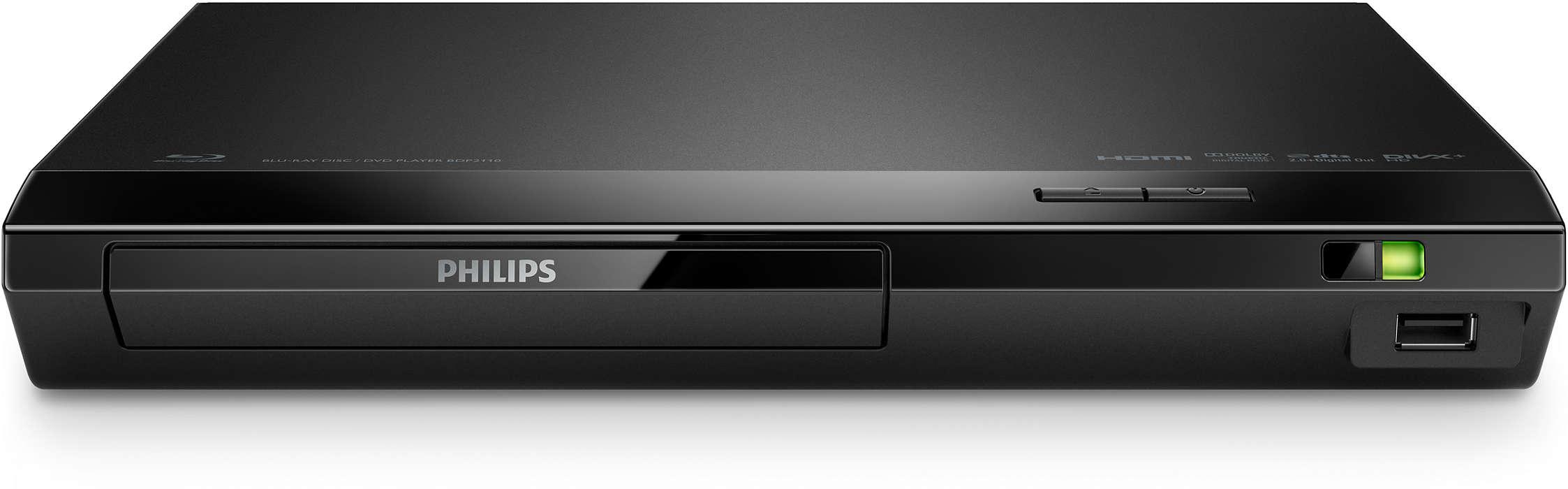 Reproducirajte sve filmove s Blu-ray diskova i DVD medija