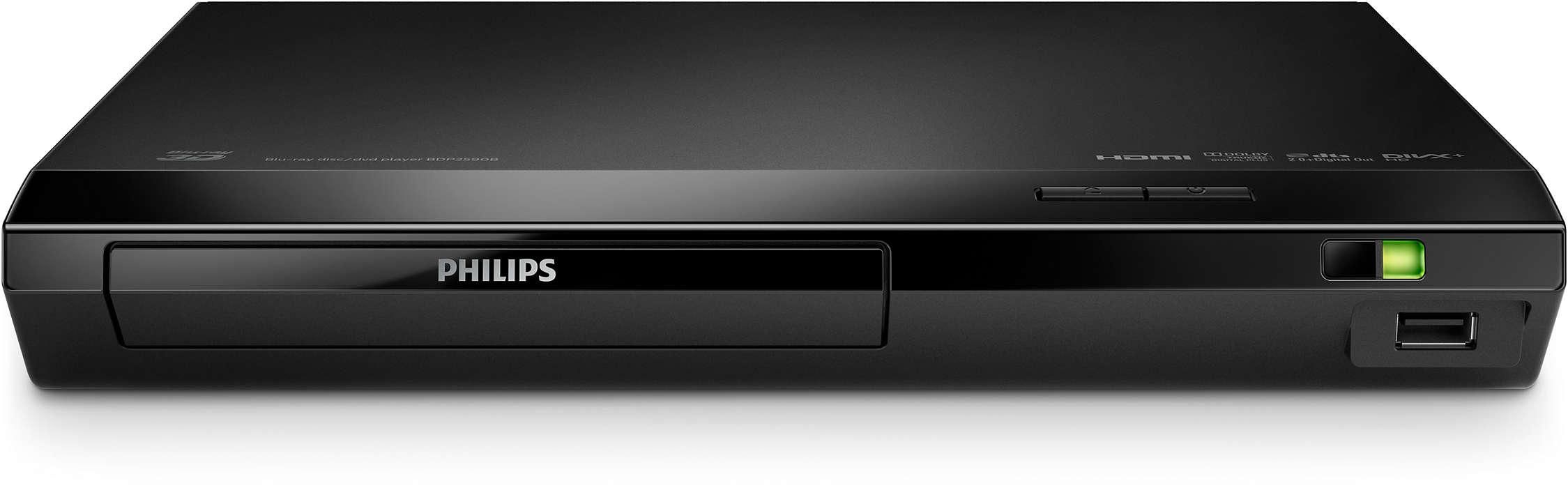 Vůbec nejrychlejší přehrávač Philips Blu-ray