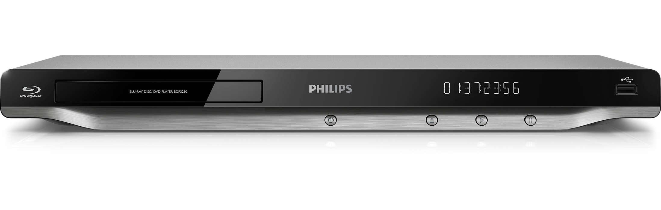 Φέρτε την κινηματογραφική εμπειρία του Blu-ray στο σπίτι σας