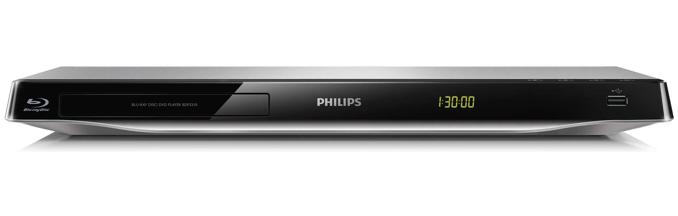 Få en hjemmekinoopplevelse med Blu-ray
