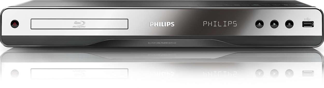 Disfruta del Blu-ray y de tus vídeos de PC favoritos.