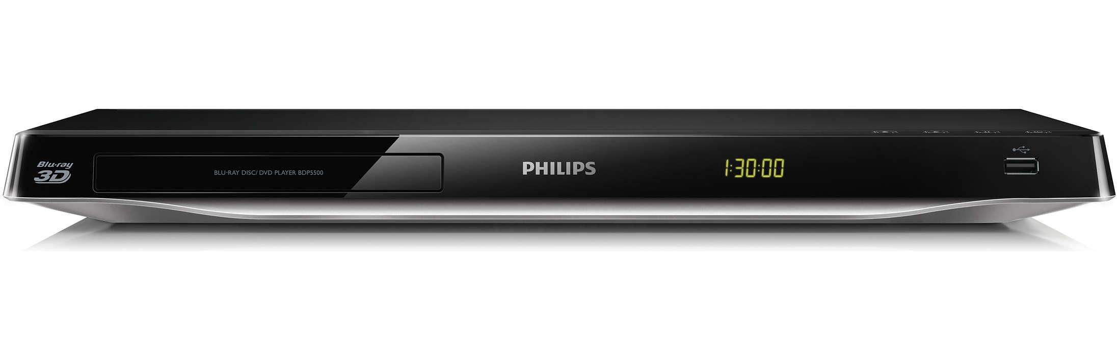 Blu-ray 3D en het beste van internet op uw TV