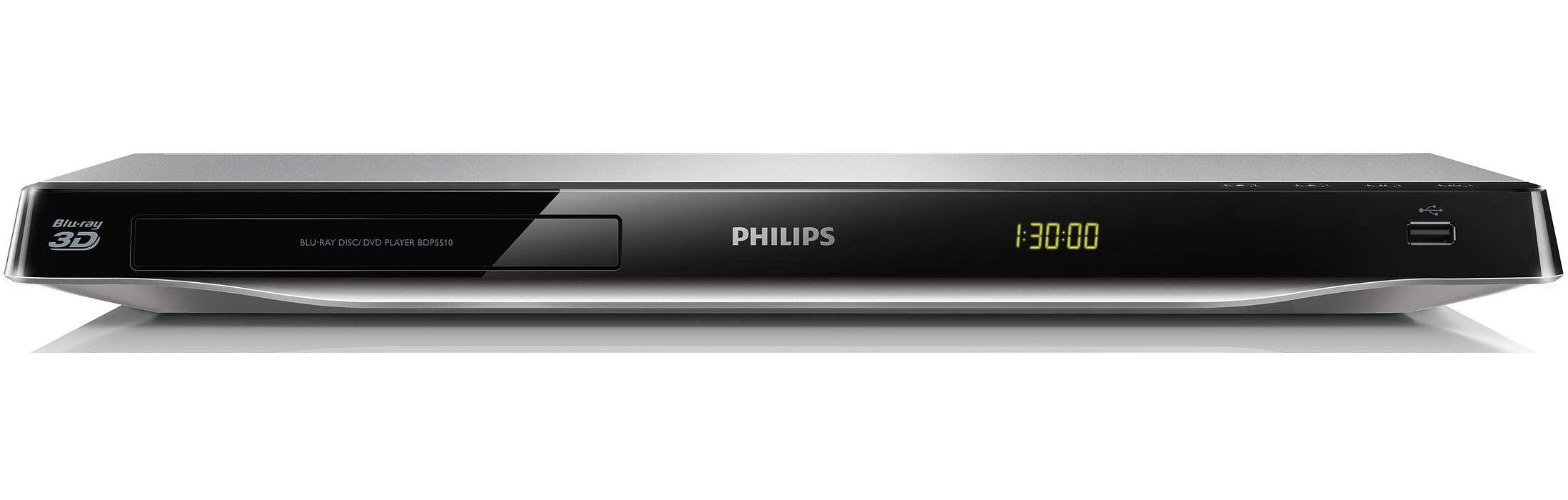 Blu-ray 3D и най-доброто от интернет на вашия телевизор