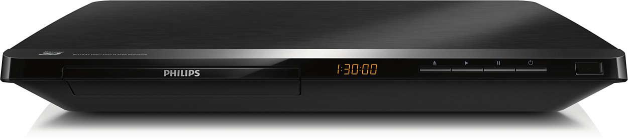 在您的電視上享受藍光 3D 與最佳的網際網路效能