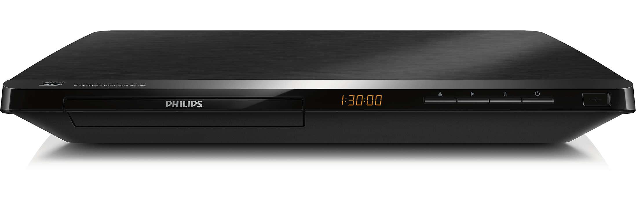 Blu-ray 3D og det beste fra Internett på TVen