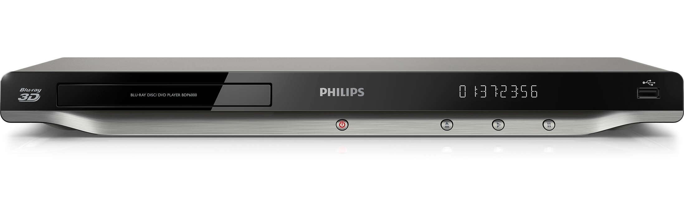 Blu-ray 3D ja Internetin parhaimmisto televisiossasi