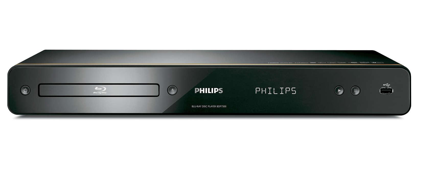 Verwen uw zintuigen met HD-audio en -video