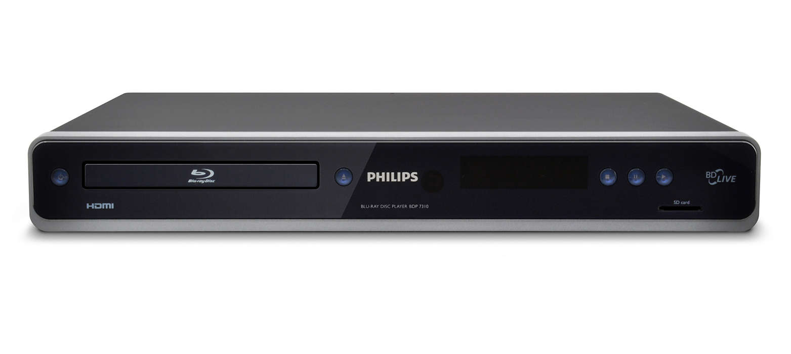 Enjoy high definition with Blu-ray Disc playback