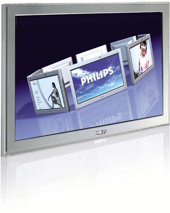 Flerfunksjonell skjermløsning for offentlige lokaler