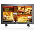 Posto de informações táctil com LCD