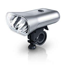 SafeRide LED-Fahrradlicht mit Akkubetrieb
