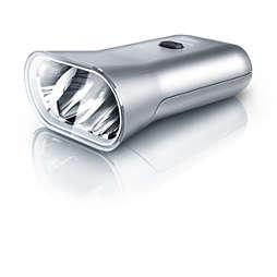 SafeRide Lampe LED vélo avec batterie