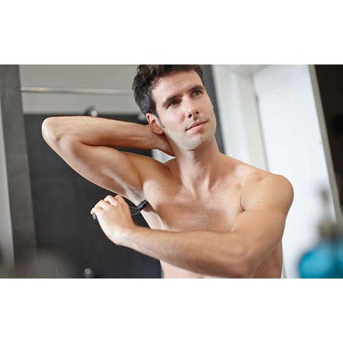 Norelco Bodygroom 1100 Showerproof body groomer, Series 1000