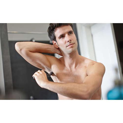 Bodygroom series 1000 Voděodolný zastřihovač chloupků na těle