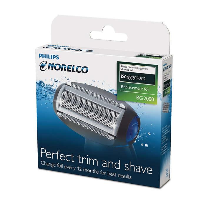 Perfekt trimmen und rasieren