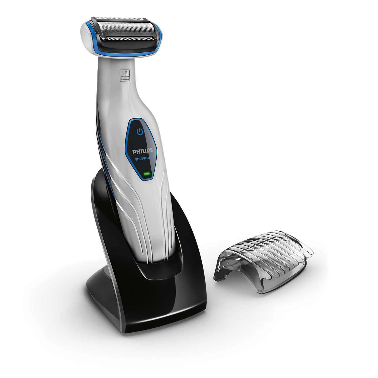 Чистое бритье и комфортное подравнивание