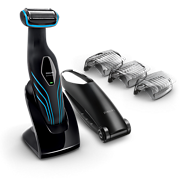 Bodygroom series 5000 Body groomer with back attachment