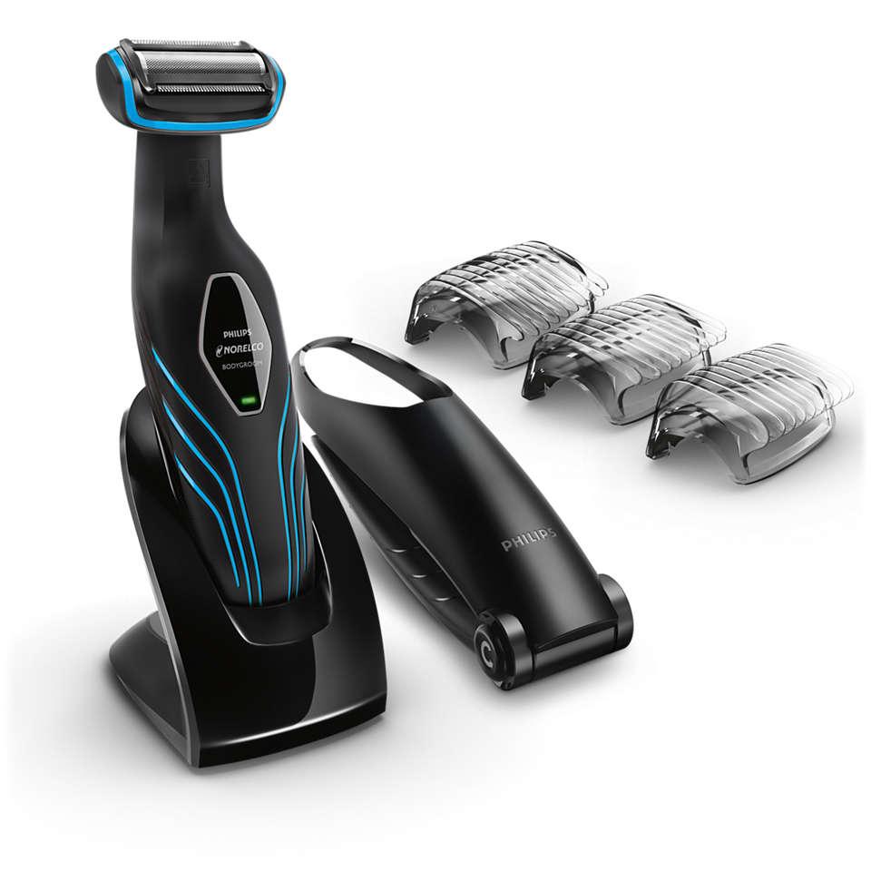 Close trim, comfortable shave