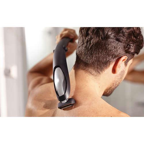 Bodygroom series 5000 Afeitadora corporal apta para la ducha