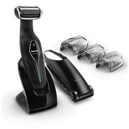 Bodygroom series 5000 آلة العناية بالجسم يمكن استخدامها أثناء الاستحمام