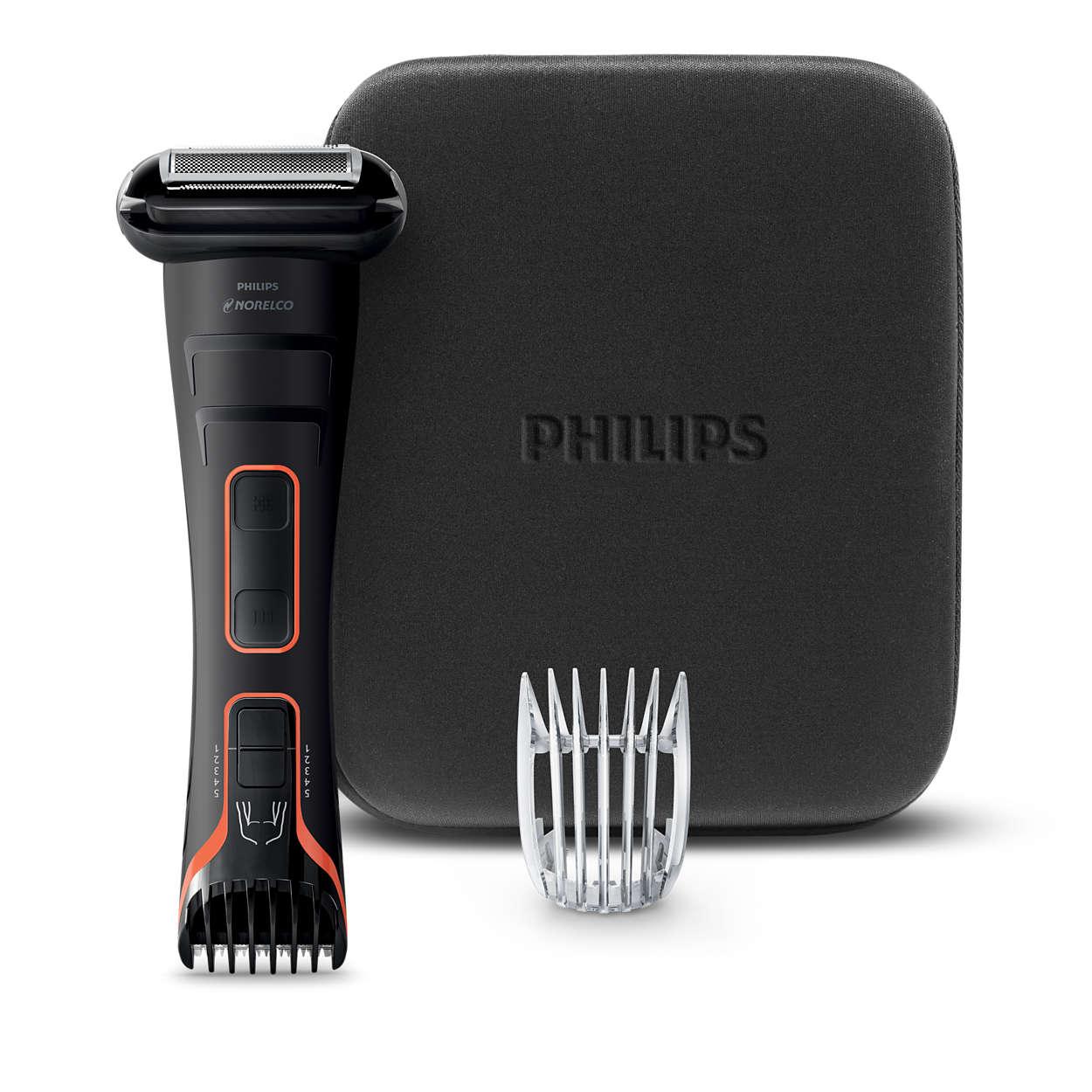 Fast trim, precise shave