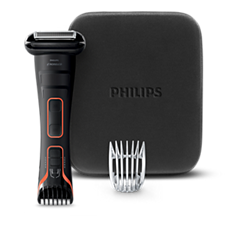 BG2039/42 - Philips Norelco Bodygroom 7200 Showerproof body groomer, Series 7000
