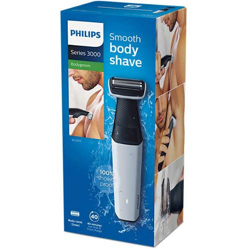 Bodygroom series 3000 Showerproof body groomer