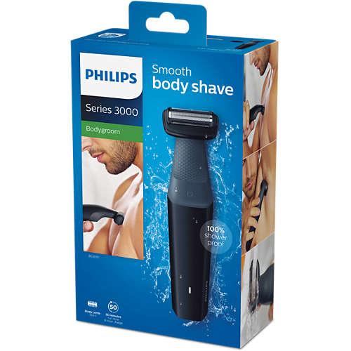 Bodygroom series 3000 Zuhanyzásbiztos testszőrtelenítő 2f219c3653