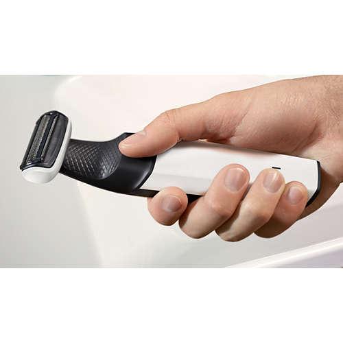 Bodygroom series 3000 Afeitadora corporal apta para la ducha
