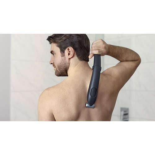 Bodygroom series 5000 Voděodolný zastřihovač chloupků na těle