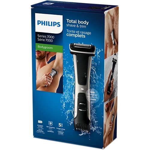 Comprar Afeitadora corporal apta para la ducha BG7025 15 online ... dee3802770a0